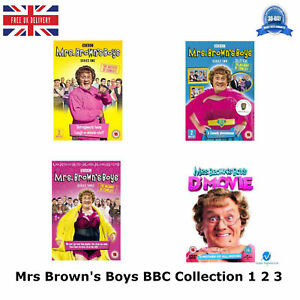 Mrs-Brown-039-s-Boys-Series-1-3-The-BBC-Collection-1-2-3-Mrs-Brown-039-s-Boys-New-UK-DVD