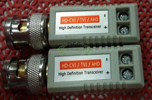 HD-CVI HD-AHD and 960H Camera 6Pairs HD Video balun Support: HD-TVI 12PCS