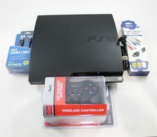 PS3 Slim System 160Gb Charcoal Black (Model Cech-2501A)