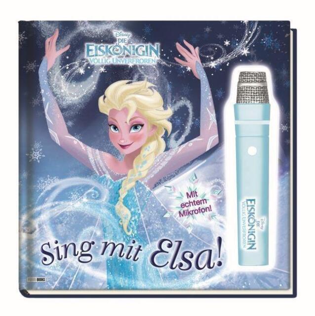 *Disney Die Eiskönigin: Sing mit Elsa!: Geschichtenbuch mit Mikrofon wie neu*