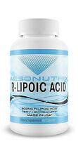 Absonutrix R-LIPOIC Acid 300mg Max Lipoic Stabilized 60 Capsules