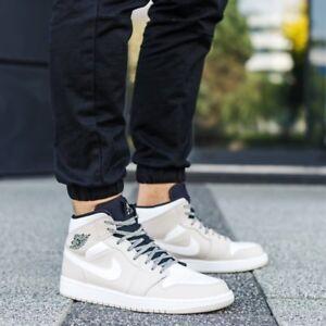1c32b7bfba5 Nike Air Jordan 1 Mid Desert Sand Size 11 Uk 46 Eu [554724-047] | eBay