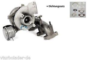 Turbolader-Volkswagen-Passat-B6-1-9-TDI-Motor-BLS-Leistung-77-Kw-03G253019K