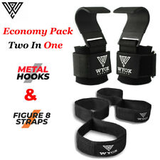 Pull up Bar Straps Wrist Support Weight Lifting Hook Exercise