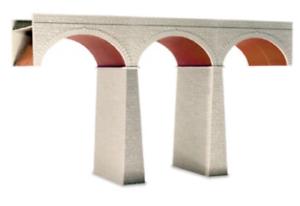 Wills-SS80-OO-Gauge-Three-Arch-Viaduct-Kit