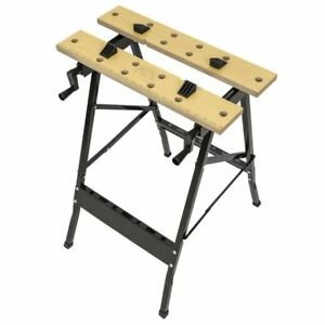 Enjoyable Details Zu New Foldable Workbench Portable Wood Clamping Folding Workmate Table Garage Pabps2019 Chair Design Images Pabps2019Com