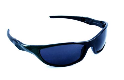 "Dark Green and Black Extreme /""Kinect/"" Sport Sunglasses Serelo"