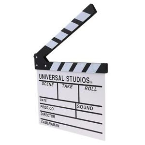 ciak legno  direttore di legno video scena ciak tv film ardesia taglio azione ...