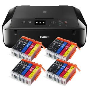 Canon-Pixma-MG-5750-Multifunktionsgeraet-DRUCKER-SCANNER-KOPIERER-20x-XL-Tinte