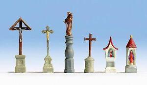 Figurines-Noch-H0-14870-Marterl-Croix-Et-Statue
