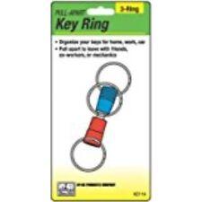 HY-KO PROD 3 Way Pull Apart Key Ring (KC114)