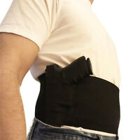 Tactical Adjustable Elastic Waist Concealed Carry Belly Band Pistol Gun Holster