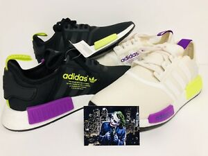 best service 9f232 59e28 Image is loading ADIDAS-NMD-R1-JOKER-PK-2-PAIRS-SZ-