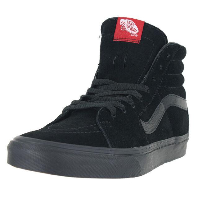 ca5e6fe839 VANS Sk8-hi Vn000d5ibka Black Suede Casual Classic Skate Shoes ...
