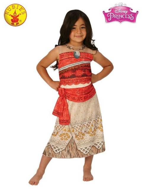 MOANA CLASSIC COSTUME  -LICENSED COSTUMES BY RUBIES