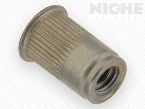 200 Pieces Insert Knurled AK #10-24x130 ST Y3 Open