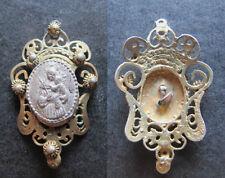 Insignia alfiler pin religioso antiguo SAN ANTONIO DE PADUA medal religious