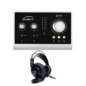 audient id14 high performance usb desktop audio interface presonus headphones ebay. Black Bedroom Furniture Sets. Home Design Ideas