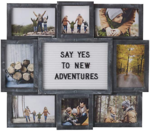 19x17inch Photos Multi Picture Frame Collage Aperture Decor Memories Home Wall