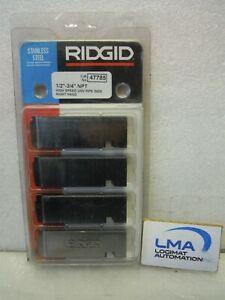 RIDGID-47785-BEVEL-SET-1-2-034-3-4-034-NPT-TOOL-SS-STAINLESS-STEEL-NEW