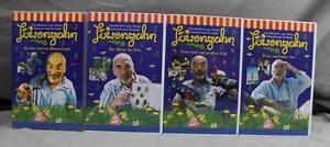 4-x-VHS-Video-Kassetten-Loewenzahn-mit-Peter-Lustig-4-Folgen-von-1998-H