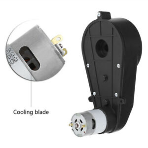 Electrico-Motor-Caja-de-Cambios-12V-30000RPM-para-Ninos-Coche-de-Juguete