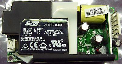 EOS VLT60-1003 Power Supply 24V @ 2.5A 60W LFVLT60-1003 Used