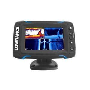 Lowrance-Elite-5-Ti-GPS-Fishfinder-W-CHIRP-Sonar-amp-HDI-Transducer-055-12421-001