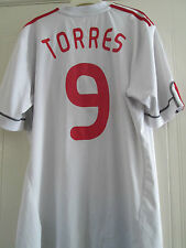 Liverpool 2009-2010 Third Torres Football Shirt Extra Large POOR CONDITION 40420