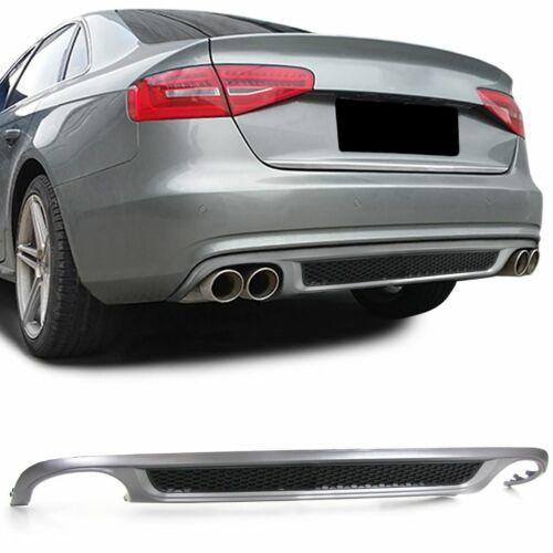 Rear Bumper Sport Diffuser for Audi A4 B8 Sedan//Avant