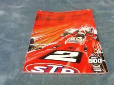 Fan Apparel & Souvenirs Sports Mem, Cards & Fan Shop 2019 Indianapolis 500 103rd Running Official Program w/ Starting Line-Up Insert