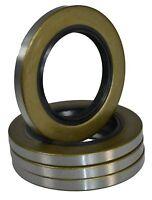 (qty 4) 168233tb Double Lip Seal For 3500lb Trailer Axles Unique 84 Spindle Ufp