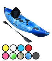 Upgraded 2017 10ft Bluefin Single Sit On Top Single Sea Fishing Kayak Canoe