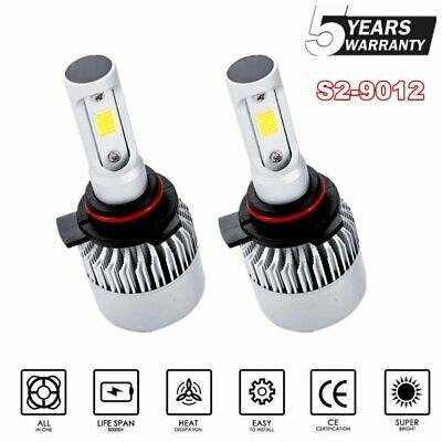 9012 LED Headlight Bulbs Kit for Toyota Corolla iM RAV4 High/&Low Beam 2017-2018