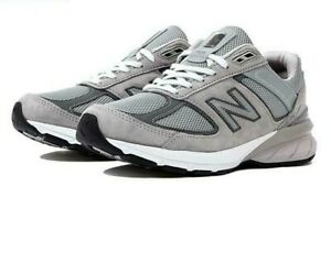 Detalles acerca de New Balance De Mujer Zapatos 990v5 Nuevo Auténtico Gris  W990GL5- mostrar título original