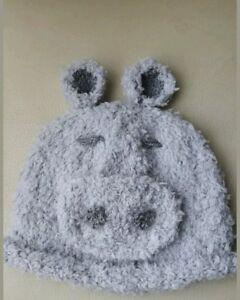 Babies grey hippo hat - Coalville, United Kingdom - Babies grey hippo hat - Coalville, United Kingdom