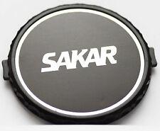 Original Sakar Front Lens Cap 62mm 62 mm Snap-on