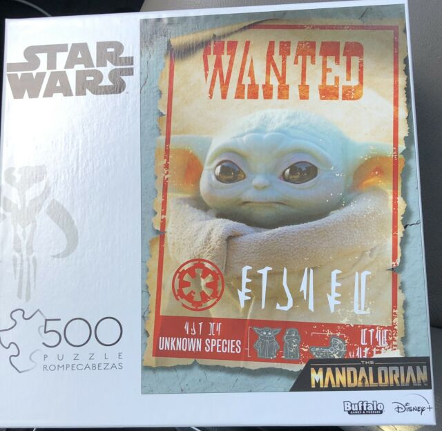 Star Wars Mandalorian Child Wanted Poster 500 Piece Puzzle ...