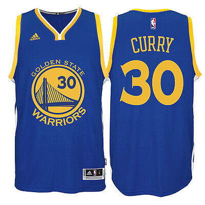 sports shoes 181b6 f5236 NBA Stephen Curry #30 Golden State Warriors adidas Swingman Men's Jersey -  Blue | eBay