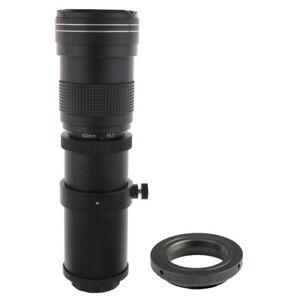 420-800-mm-F-8-3-16-teleobjectif-objectif-zoom-manuel-pour-Canon-EOS-DSLR