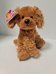 "Rare TY Beanie Baby - ""FROLICS"" Dog 5.5"" - Plush Stuffed Animal Toy"