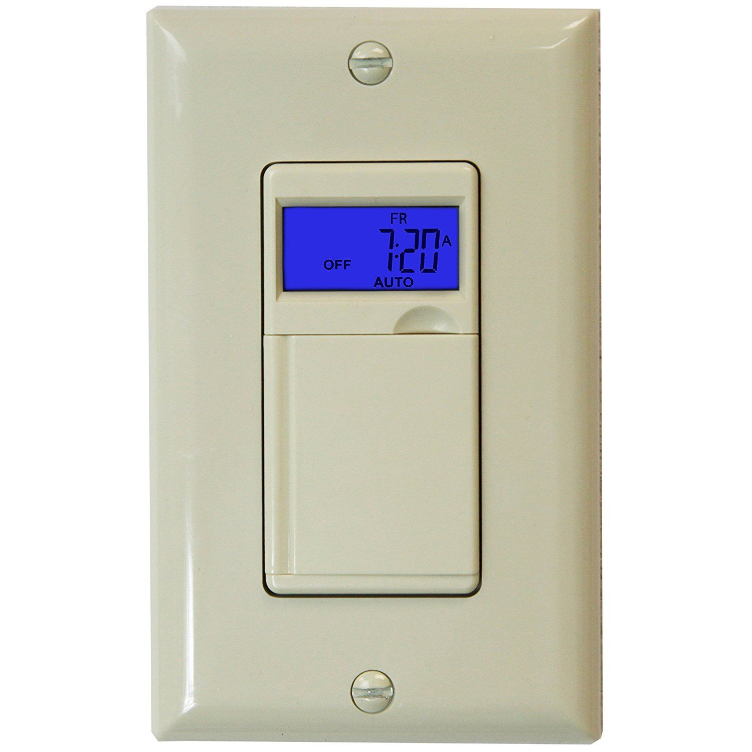 7 day digital programmable timer light switch for motors for Timer switch for motor