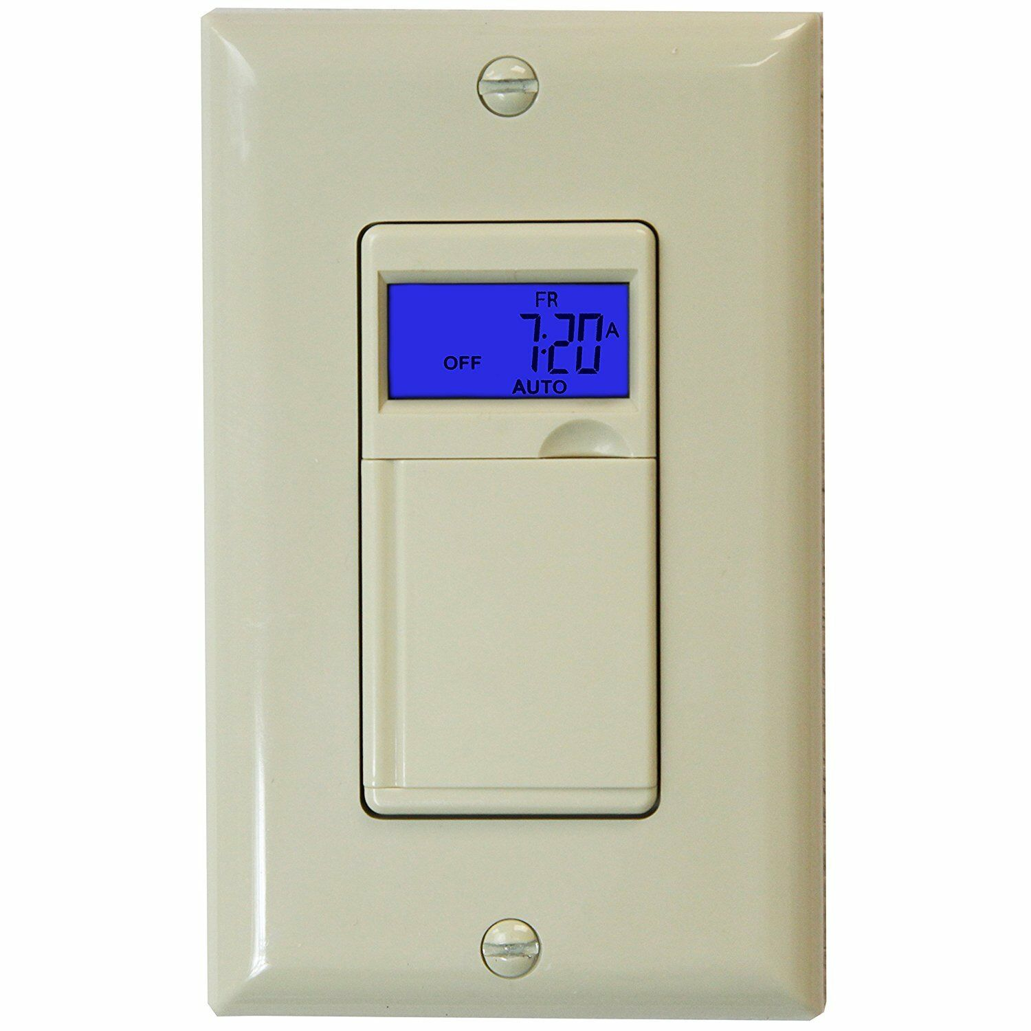 day digital programmable timer light switch for motors fans lights. Black Bedroom Furniture Sets. Home Design Ideas