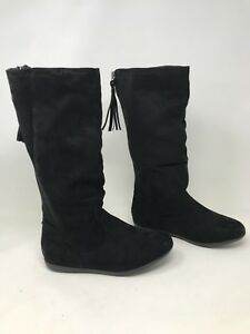 New! Girls (Youth) Sonoma 144597 Jaylin Tall Fashion Boots - Black U31