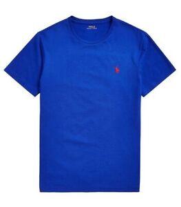 Details about Polo Ralph Lauren Mens Custom Slim Fit T Shirt Heritage Royal Blue