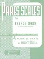 Pares Scales French Horn In F Or E-flat And Mellophone Brass Method Ne 004470550