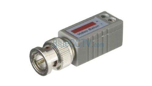 Pack of 20 Cat5 to BNC Passive Video Balun Connector for CCTV SECURITY CAMERAS
