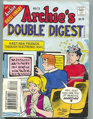 Archies Double Digest 73 Library 1994 FN Betty Jughead   eBay