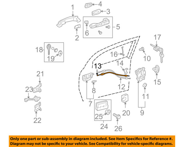Scion Front Door Latch Diagram - Trusted Wiring Diagrams •