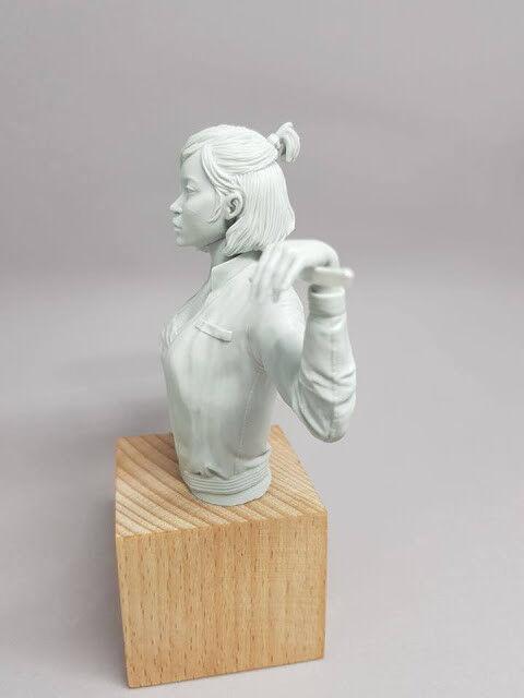 Ourobgolds Miniatures Akane (Bust) (Bust) (Bust) CP Yakuza Female Cyberpunk Gang Warrior Hero 35cc94